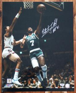 Nate Tiny Archibald SIGNED 16x20 Photo Top 50 Boston Celtics PSA/DNA AUTOGRAPHED