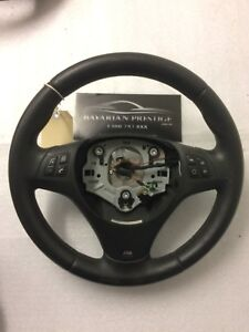 BMW M-Sport Multi-Function Leather Steering Wheel Fits 3 Series E90 1 Series E87