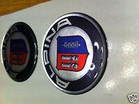 BMW ALPINA Center Hub Cap Stickers, APLINA, BMW Alloy Domed Stickers