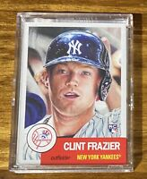 2018 Topps Living Clint Frazier Baseball Card # 110 - Yankees Rookie RC !!!!!!!