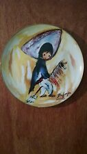 """""""My First Horse"""", De Grazia Limited Edition collector plate, 1985"""