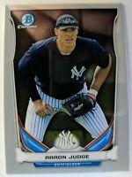 2014 14 Bowman Chrome Aaron Judge Rookie RC #TP-39, New York Yankees