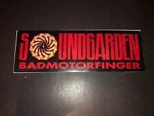 Soundgarden Chris Cornell Rare Vintage Promo Sticker Decal Badmotorfinger