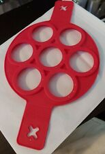 Egglettes Silicone Soft Boiled Egg Pancake Ring Mold Non-Stick