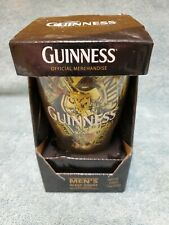 Guinness Style Men's Boxer Shorts with Pint Glass Size S 28 - 30