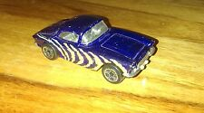 CORVETTE 1962 PURPLE WITH YELLOW STRIPES MATCHBOX