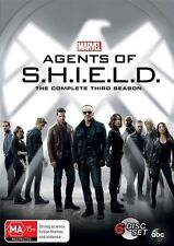 Marvel's Agents Of S.H.I.E.L.D: Season 3 (DVD, 6-Disc Set) R/4 = GENUINE NO FAKE