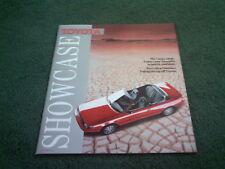 1987 Edn 1 TOYOTA RANGE BROCHURE Corolla GT Celica MR2 Landcruiser L&S COPCUTT