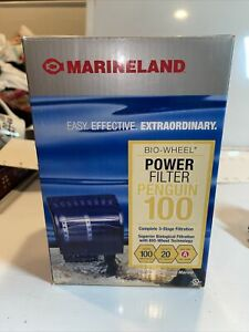 Marineland Penguin Power Filter w/ Multi-Stage Filtration Up to 20-Gallon