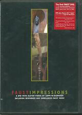 IMPRESSIONS BY FAUST RARE DVD WITH 11 VIDEOS BY W DIERMAIER INCLUDING UNRELEASED