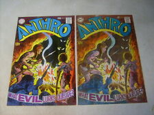 Anthro #3 Cover Art, original Approval Cover Proof and Painting, 1960'S amazing!