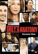 Greys Anatomy Season 1 DVD 2-Disc Set Patrick Dempsey Ellen Pompeo BRAND NEW