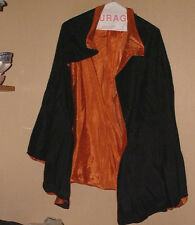 VINTAGE PREMIUM QUALITY SILKY ACETATE DRACULA CAPE WITH LINING- M/L !