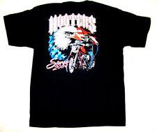 4 XL Hooters Uniform 2004 Store closed OOP Sturgis USA FLag Biker T-Shirt vtg SD
