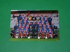 PHOTO CARTE EQUIPE EFFECTIF 1997-1998 PARIS SAINT-GERMAIN PSG PARC DES PRINCES
