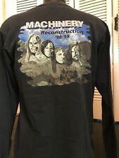 VTG Machinery Construction Tour Shirt Sz XL Exodus Venom Rock Morbid Death Metal