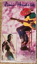 JIMI HENDRIX. NEW SEALED. VHS.