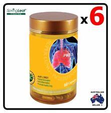 6x Homart Springleaf Super Lung PM 2.5 Defense 60 capsules