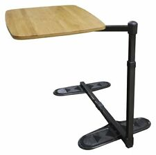 Universal Swivel Tray Table - Bamboo Top, Swivel & Pivot, Suits Most Lounges,