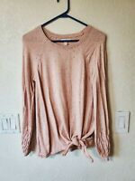 LAUREN CONRAD WOMENS SWEATER BLOUSE SMALL