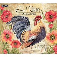 2018 Lang Proud Rooster Wall Calendar Susan Winget NEW