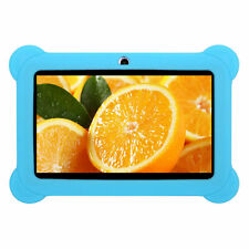 """7"""" Kids Tablet Soft Rubber Case Silicone Shockproof Protective Cover Blue"""