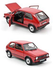 1/18 Norev VW Volkswagen GTI 1976 Red Neuf Boite D'Origine Livraison Domicile
