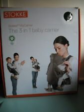 Stokke My Carrier    3 In 1 Baby  Carrier    Red / Beige