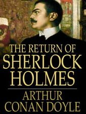 The Return of Sherlock Holmes Audio Book Collection MP 3 CD 10 Hours