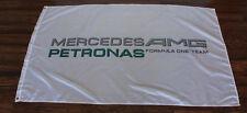 White Mercedes Petronas AMG Racing Flag Formula One Team F1 Sign Banner New