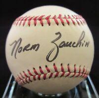 Norm Zauchin Signed Baseball - Beckett BAS