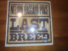 Willie Nelson Merle Haggard Ray Price - Last of the Breed LP vinyl record NEW