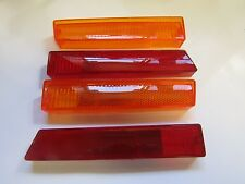 Mopar 70 71 Dart Red and Amber Side Marker Light Lenses 1970 1971 NEW