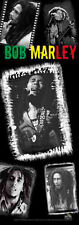 BOB MARLEY - COLLAGE - FABRIC DOOR POSTER - 21x58 WALL HANGING DF015