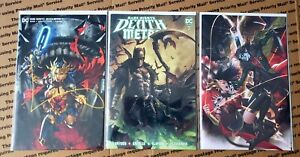 Dark Nights Death Metal 3 Book Lot - (9.4-9.6) - #1, 7, & 6 - Ngu,Mastrazzo,Lee