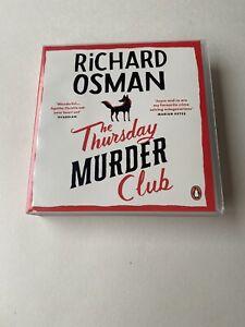 THE THURSDAY MURDER CLUB BY RICHARD OSMAN (AUDIOBOOK CD)