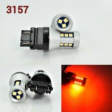 T25 3157 3457 4157 LED Front Signal Red Bulb OSRAM 15 SMD K1 For Saturn A