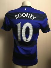MANCHESTER UNITED 2012 2013 FOOTBALL THIRD JERSEY ROONEY #10  NIKE M BLUE