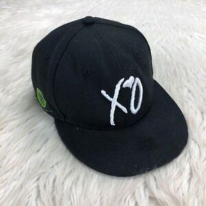 New Era x XO The Weekend Snapback Hat Hardfest Hard EST 2007 Neon Green