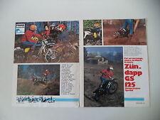 - PROVA MOTOCICLISMO 1976 MOTO ZUNDAPP GS 125 COMPETIZIONE SPECIAL