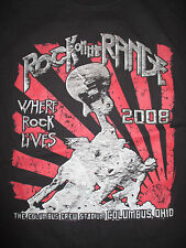 """2008 KID ROCK """"ROCK ON THE RANGE"""" Lives (MED) T-Shirt STONE TEMPLE PILOTS STAIND"""