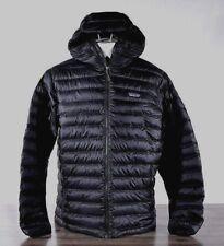 Patagonia Men's Down Sweater Jacket MED Black 84701 Goose Puffer Winter Hoody