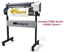 Roland GS-24 Vinyl Cutter w/ FREE Stand! Cut Sign Vinyl & Heat Transfer Vinyl
