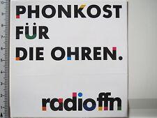 Aufkleber Sticker Radio FNN Spruch (3837)