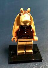 Genuine LEGO Minifigure Star Wars Gungan Soldier - with Baseplate - sw302