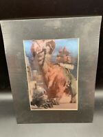 Star Wars Jawa and Ronto Collector Edition ChromArt Print 1997 With COA Sealed