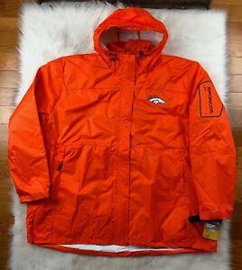 Denver Broncos 3 in 1 System Jacket + Puffer Big & Tall Orange, Men 6XL NFL