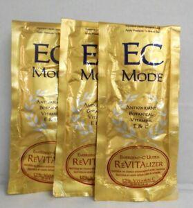EC Mode EMERGENT-C ULTRA REVITALIZER Vitamins E & C ~ 1 oz ~ (Lot of 3 Packets)