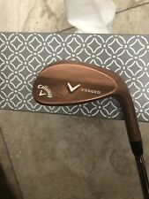 Callaway V Forged Copper Bronze Sand Wedge 56 Steel Right Handed Standard Length