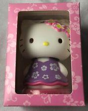 *NIB* SANRIO Hello Kitty Hawaii Bobble Head Mascot / Doll -  Purple Muumuu Dress